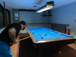 playing pool Rehab Assistants